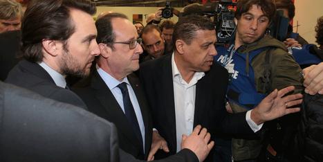 La visite mouvementée de François Hollande au Salon de l'agriculture | Mes articles | Scoop.it