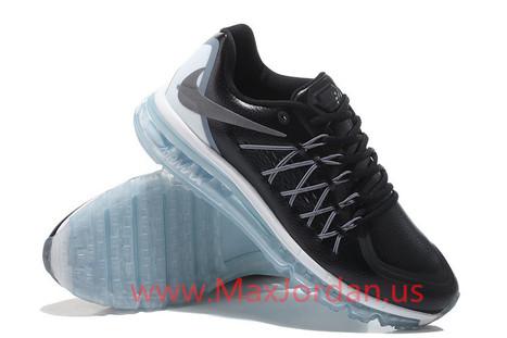 Men Nike Air Max 2015 Black Silver Leather Sneaker,Discount nike air max 2015 black leathers online sale | nike sneaker store | Scoop.it