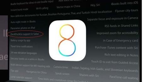 Apple intègre DuckDuckGo à iOS 8 et OS X Yosemite ! | Web information Specialist | Scoop.it