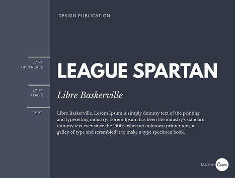 The Ultimate Guide to Font Pairing | L&D News Bits | Scoop.it