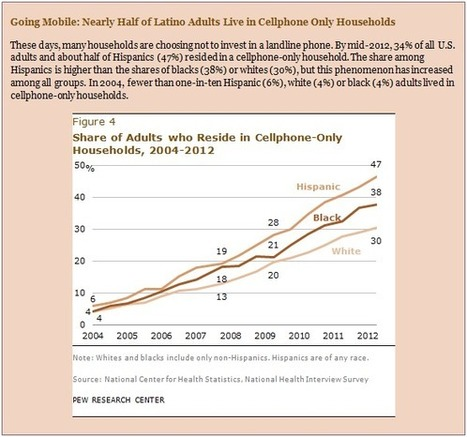 Closing the Digital Divide: Latinos and Technology Adoption | Educational Leadership and Technology | Scoop.it