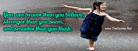 Facebook Cover Image - Trust Braver than Believe - TheQuotes.Net | Facebook Cover Photos | Scoop.it