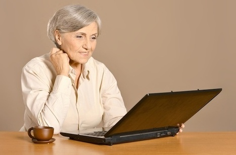 Silver Surfers: How The Older Generation Uses Social Media [INFOGRAPHIC] - AllTwitter | screen seriality | Scoop.it