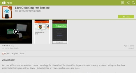 Remote Control Slideshows Using LibreOffice Impress Remote on Your Android Device | TDF & LibreOffice | Scoop.it