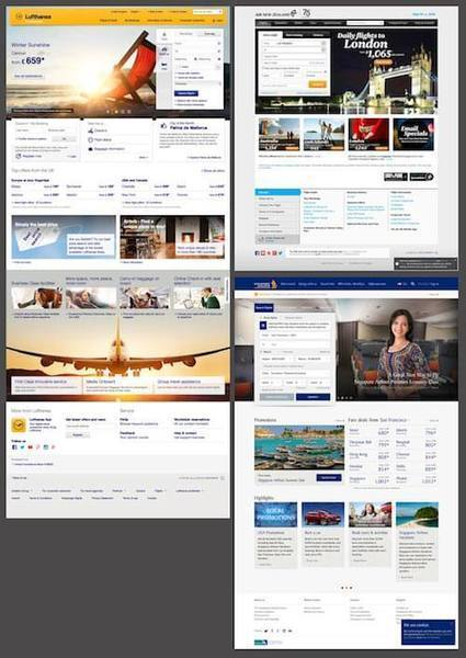 The State Of Airline Websites 2015: Lessons Learned #websitedesign | WebsiteDesign | Scoop.it
