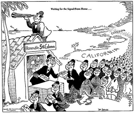 Dr. Seuss Went to War | History and Social Studies Education | Scoop.it