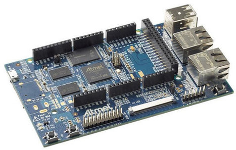 $79 Atmel ATSAMA5D3 Xplained Arduino Compatible, Open Source Hardware Board Powered by SAMA5D3 ARM Cortex-A5 Processor | Embedded Software | Scoop.it