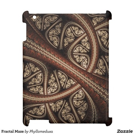 Fractal Maze iPad Cover from Zazzle.com | Fractal Gifts | Scoop.it