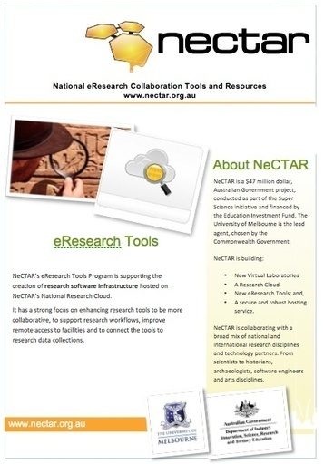 eResearch Tools | NeCTAR | e-Xploration | Scoop.it