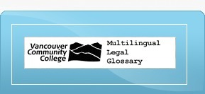 (MULTI) - Legal Dictionary | Vancouver Community College | Glossarissimo! | Scoop.it