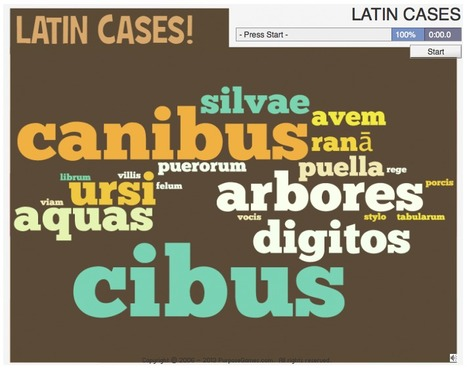 LATIN CASES | Clàssiques | Scoop.it