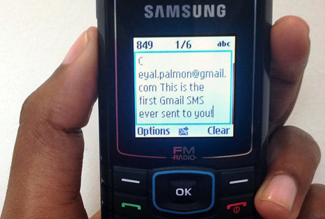 Google launches Gmail SMS for text-based email in Ghana, Nigeria and Kenya | Comparative Government and Politics | Scoop.it