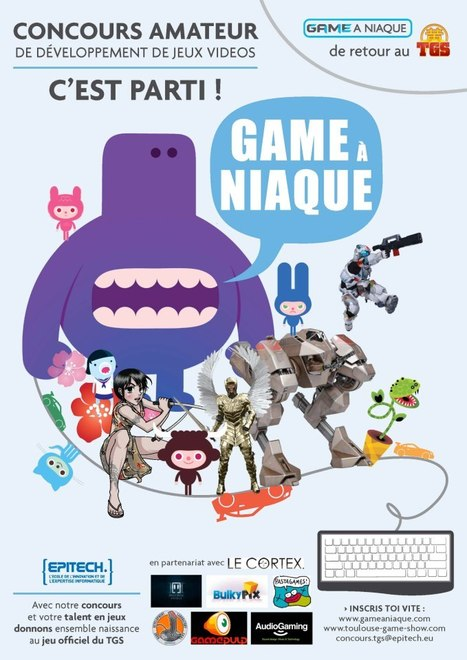 Game à Niaque 2012 : ouverture des inscriptions | Toulouse networks | Scoop.it