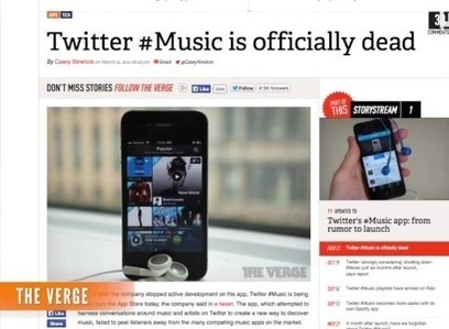 Twitter Music shuts down, going offline April 18 - KTVU San Francisco | What makes music catchy? | Scoop.it