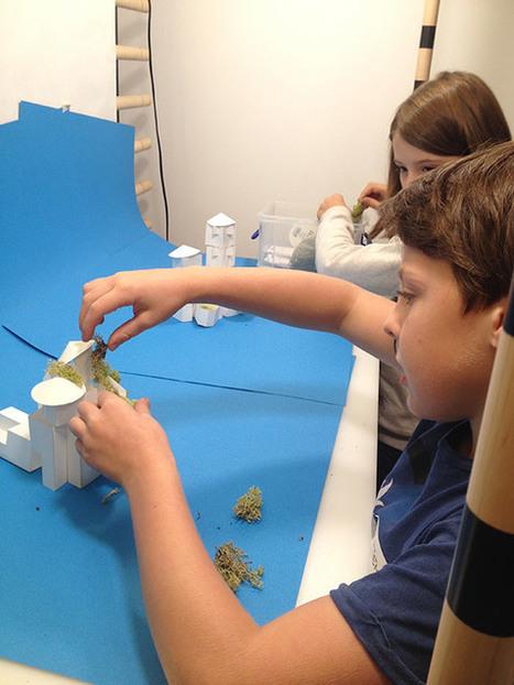 Un fablab à Beaubourg? oui, mais rien que pour les enfants | Innovation sociale | Scoop.it