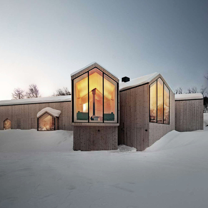 Split View Mountain Lodge: Built on the Bedrock of RRA's Interactions with Tiered Scenery | Aesthetics & Space | Scoop.it
