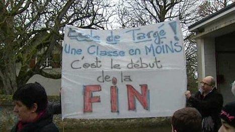 Les parents d'élèves de #Targé manifestent sur  @francetvinfo | Chatellerault, secouez-moi, secouez-moi! | Scoop.it