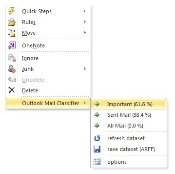 Outlook Mail Classifier, aide au classement automatique des emails avec Outlook 2010 | Time to Learn | Scoop.it