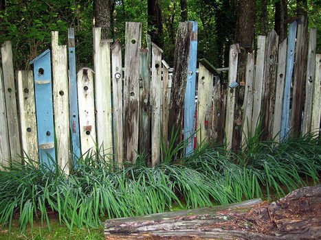 Birdhouse fencing | Upcycled Garden Style | Scoop.it