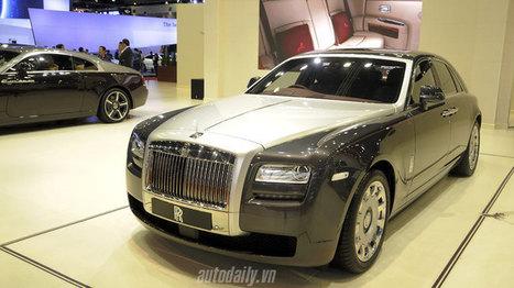 Cận cảnh Rolls-Royce Ghost phiên bản Phi Mã | Tin tức ô tô xe máy | Scoop.it