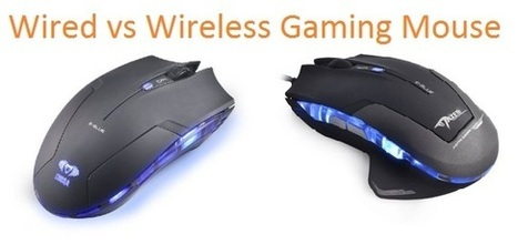 Wired vs Wireless Gaming Mouse | Wireless Gaming Mouse | Scoop.it