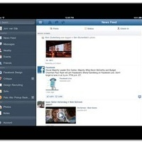 Facebook for iPad Hands On: I've Waited So Long | The Trinity of Social Media and How it Affects You | Scoop.it