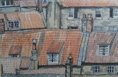 Artwork: Robin Hood Roofs - Open House Art | Art - Crafts - Design | Scoop.it