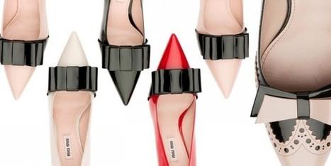 Miu Miu mette il fiocco alle scarpe da donna - Sfilate | fashion and runway - sfilate e moda | Scoop.it