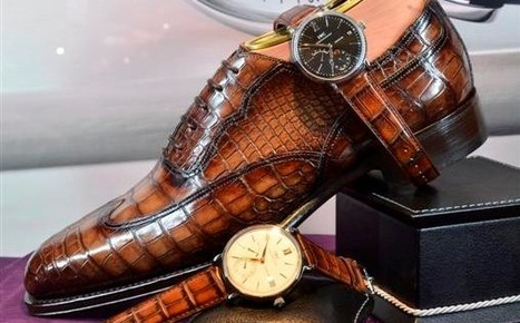 IWC & Santoni at IWC Portofino Hand-Wound Eight Days: | Le Marche & Fashion | Scoop.it