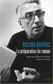 Roland Barthes : La préparation du roman. Cours au Collège de France (1978-1979 et 1979-1980)   Philosophie-Toulouse   Scoop.it