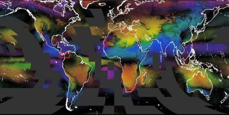These cloud maps track life on Earth in beautiful detail | AP HUMAN GEOGRAPHY DIGITAL  STUDY: MIKE BUSARELLO | Scoop.it