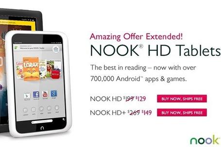 Not a good sign: Barnes & Noble just keeps slashing Nook tablet prices | eBooks, eReaders, and Libraries | Scoop.it