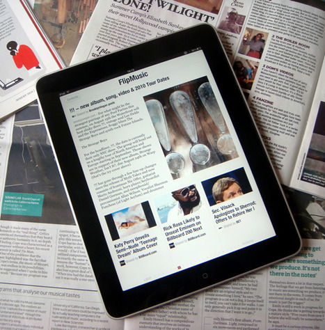 The Five Best iPad Apps for Consuming the News that's Important to You | Mobile Journalism Apps | Scoop.it