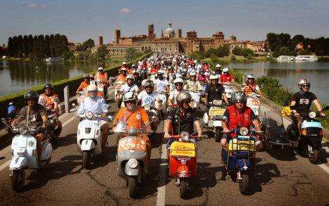 Vespa World Day 2014, Mantova, Italy | Vespa Stories | Scoop.it