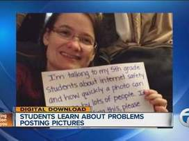 Viral photo teaches 5th graders in Tennessee important internet safety lesson - WXYZ | Digital Citizenship | Scoop.it