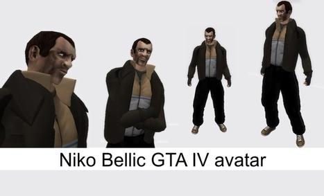 Niko Bellic GTA IV Avatar by ANTIFA STYLE | Teleport Hub - Second Life Freebies | Second Life Freebies | Scoop.it