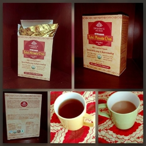 Product Review: Organic India Tulsi Masala Chai - Plenty Well | healthy living | Scoop.it
