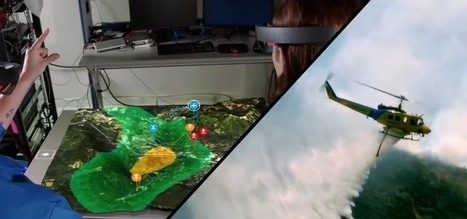 Boeing Is Fighting Wildfires with the Microsoft HoloLens & Large Drones | BT | Scoop.it