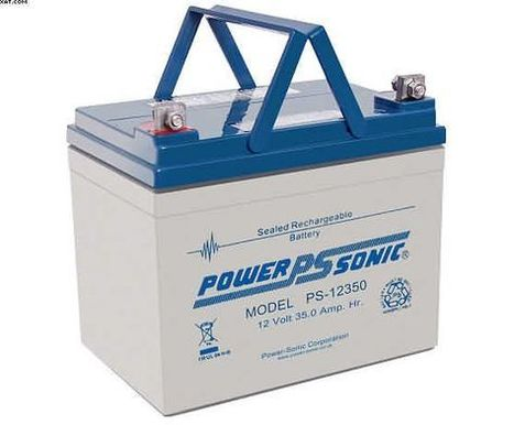 Chauffer Scooters Mobility Batteries-POWERSONIC 35AH | All about batteries | Scoop.it