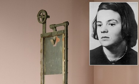 Found, guillotine used to kill Hitler's enemies: But will device that executed ... - Daily Mail | World News | Scoop.it