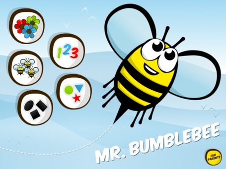 Mr. Bumblebee Learning in His Own App for iPads | iPadApps | Scoop.it