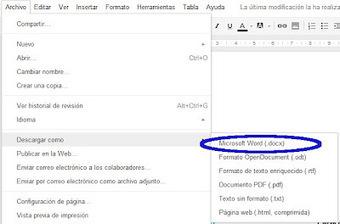 TIC: Pasar de Pdf a Doc con Google Drive | Educación 2.0 | Scoop.it