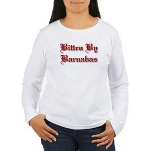 Bitten By Barnabas Women's Long Sleeve T-Shirt> Bitten By Barnabas> Biggest Fan Shop | CafePress Designs Via Flamin Cat Designs And Friends | Scoop.it