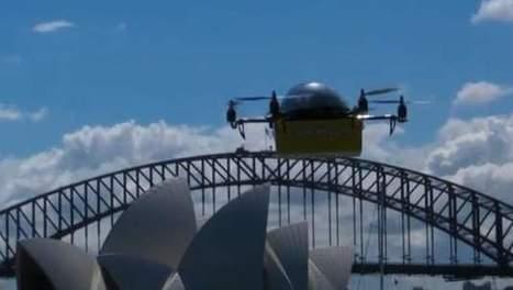 Australische drones brengen boeken aan huis   15 Innovatieve toepassingen van ICT & technologie   Scoop.it