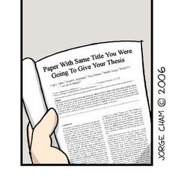 PHD Comics: Imposible! | La cocina del cientista social | Scoop.it