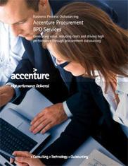 Procurement BPO (Business Process Outsourcing) Services Overview - Accenture | Procurement Outsourcing | Scoop.it