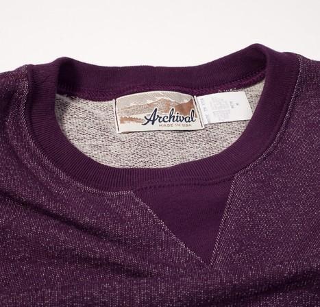 Archival Clothing | Lightweight Sweat Eggplant | Men's style | Scoop.it
