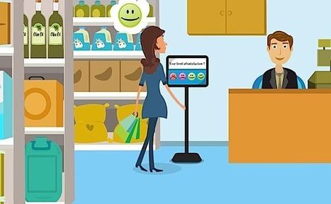 La startup du jour : Qwesteo, la borne qui mesure la satisfaction client dans les magasins en 1 clic | Marketing digital - Innovation - Tendances - Commerces | Scoop.it