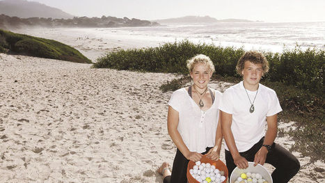 Two Carmel High students uncover a golf ball conundrum.   Plastic Pollution   Scoop.it