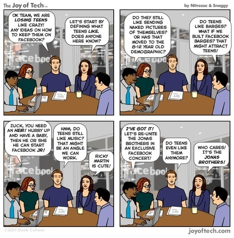 Smells Like Teen Spirit at Facebook Headquarters [COMIC] | Pour améliorer l'efficacité de votre force de vente, une seule adresse: mMm (formation_ conseil_ animation) en marketing management........................ des entreprises et des organisations .......... mehenni Marketing management......... | Scoop.it